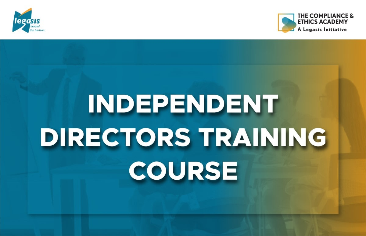 Independent Directors Training Course cover